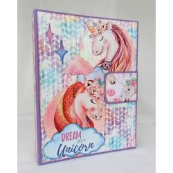 """Album folio """"Unicorn"""""""
